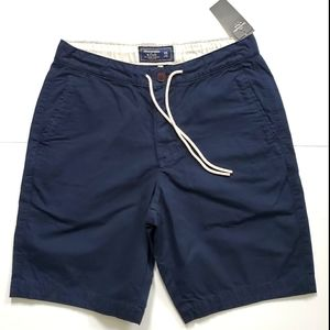 NWT Abercrombie & Fitch Navy Cotton Shorts XS